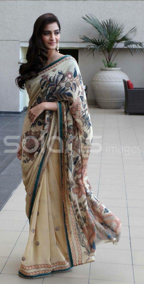 Sari sophistication.