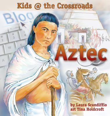 Yoatl, a 12-year-old Aztec boy living in 1519 tells of his terror as a novice warrior. He meets the pale, hairy-faced strangers who arrive from across the sea with their powerful weapons. Includes information about the Aztec life and customs.