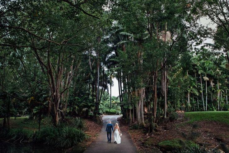 rain forrest wedding venue gold coast boomerang farm