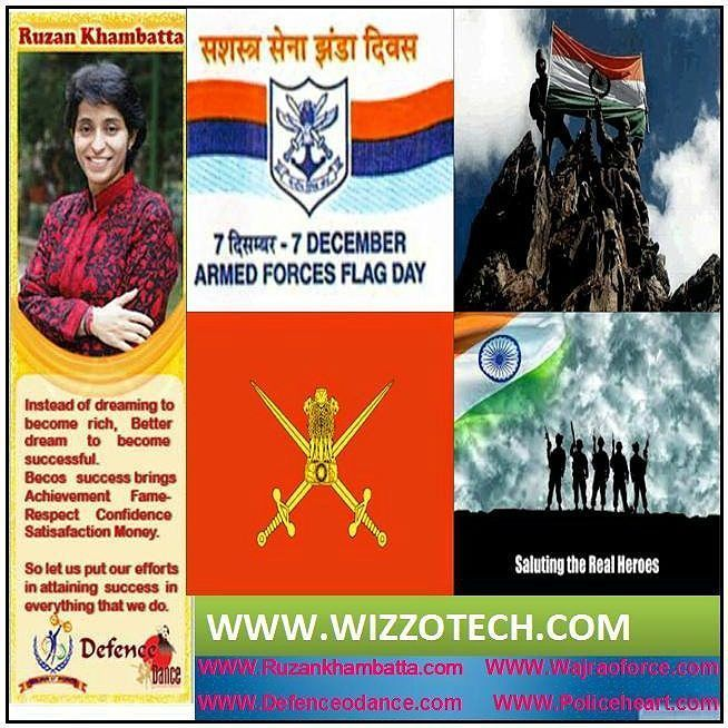 Armed Forces Flag Day  The Armed Forces Flag Day is celebrated all over India every year on 7th of December in order to collect the funds from people all around the country for the wellbeing of the staff of the Indian Armed Forces. It was first celebrated in India on 7th of December in the year 1949.  #youthicon #motivationalspeaker #inspirationalspeaker #mentor #personalitydevelopment #womenempowerment #womenentrepreneur #entrepreneur #ruzankhambatta #womenleaders #womenselfdefense…