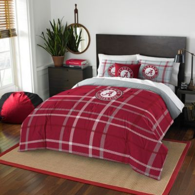 University of Alabama Embroidered Comforter Set - BedBathandBeyond.com Boys' Room!