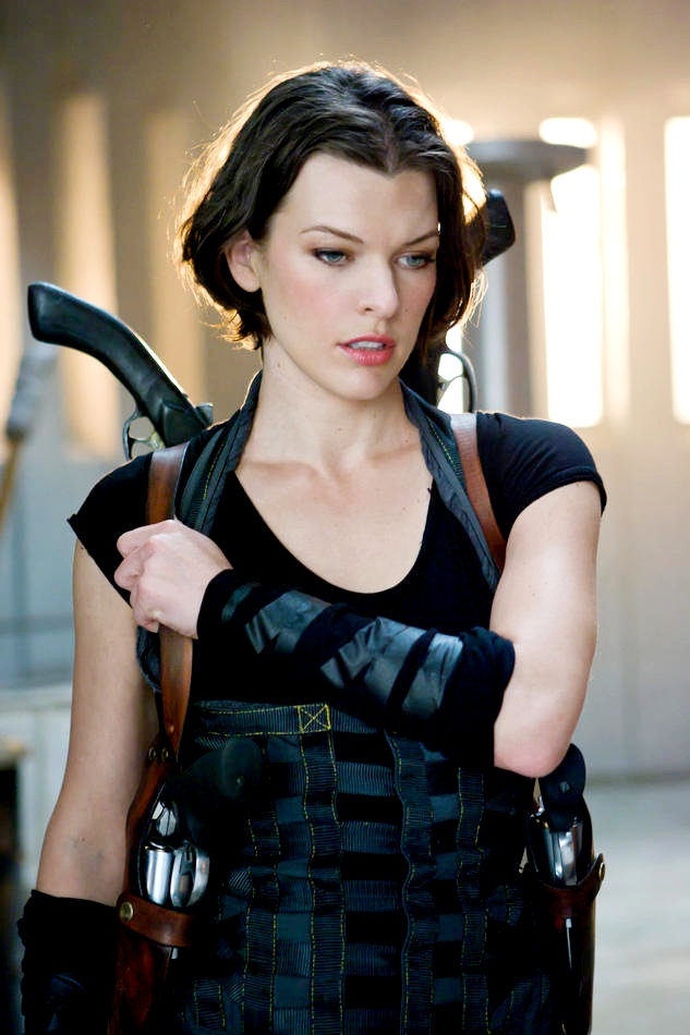 """Milla Jovovich as Alice in """"Resident Evil: Afterlife"""" (2010)"""
