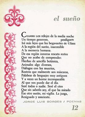 El sueño  Jorge Luis Borges