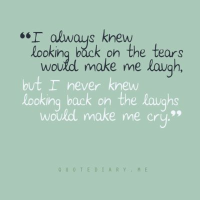 Tears & Laughter