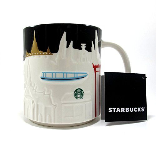 New Thailand Starbucks Bangkok City Relief Mug Series Col...