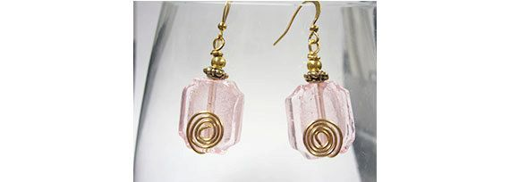 Pink Egyptian by ElizabethsPearlz on Etsy