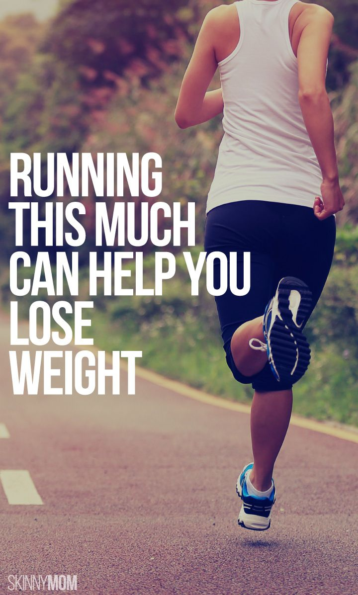 Running This Much Each Week Can Help You Lose Weight ...