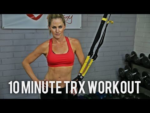 10 Minute Total Body TRX Workout - YouTube