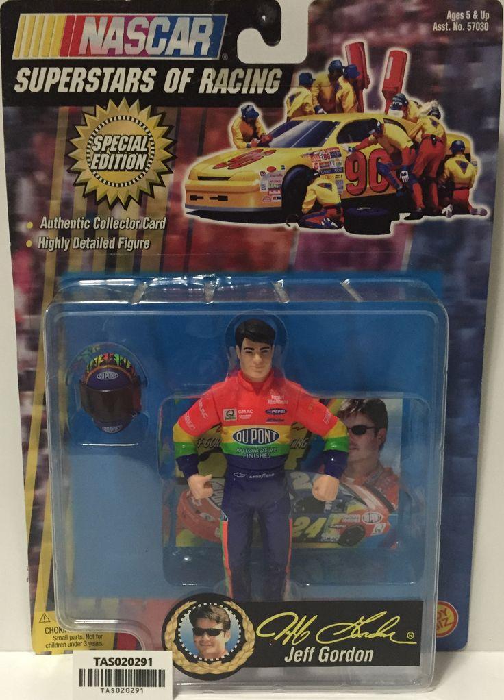 (TAS020291) -- 1999 Toy Biz Nascar Superstars of Racing - Jeff Gordon Figure