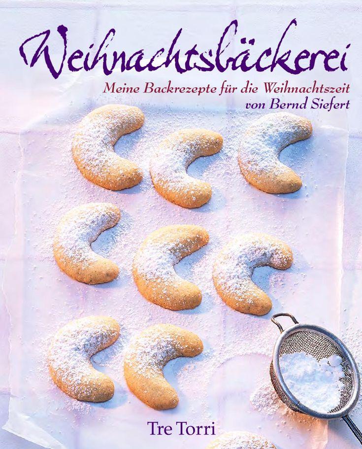Köstliche Rezepte aus der Weihnachtsbäckerei von Spitzen-Pâtissier Bernd Siefert. Neben Klassikern wie Aachener Printen, Christstollen oder Spekulatius gibt es auch Rezepte für Vanillekipferl, Grüntee-Cookies oder Latte Macchiato-Sterne.