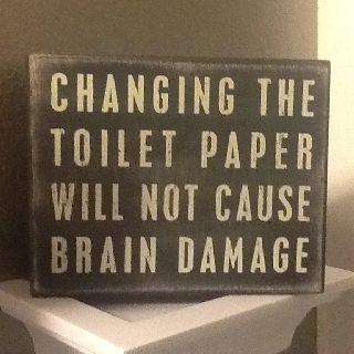 Bathroom signs. Perfect for my bathroom!