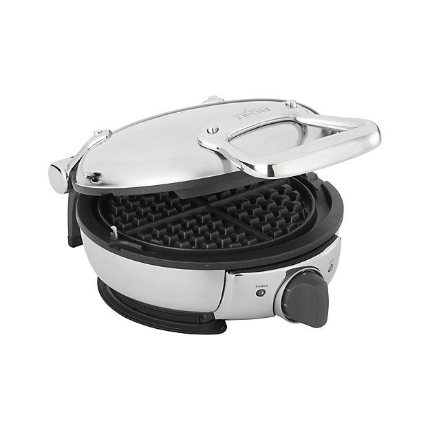 Free Shipping.  Shop All-Clad ® Waffle Maker.  Construction, quality and durability define this polished stainless All-Clad classic round waffle maker with a nonstick recessed plate for even, consistent results.