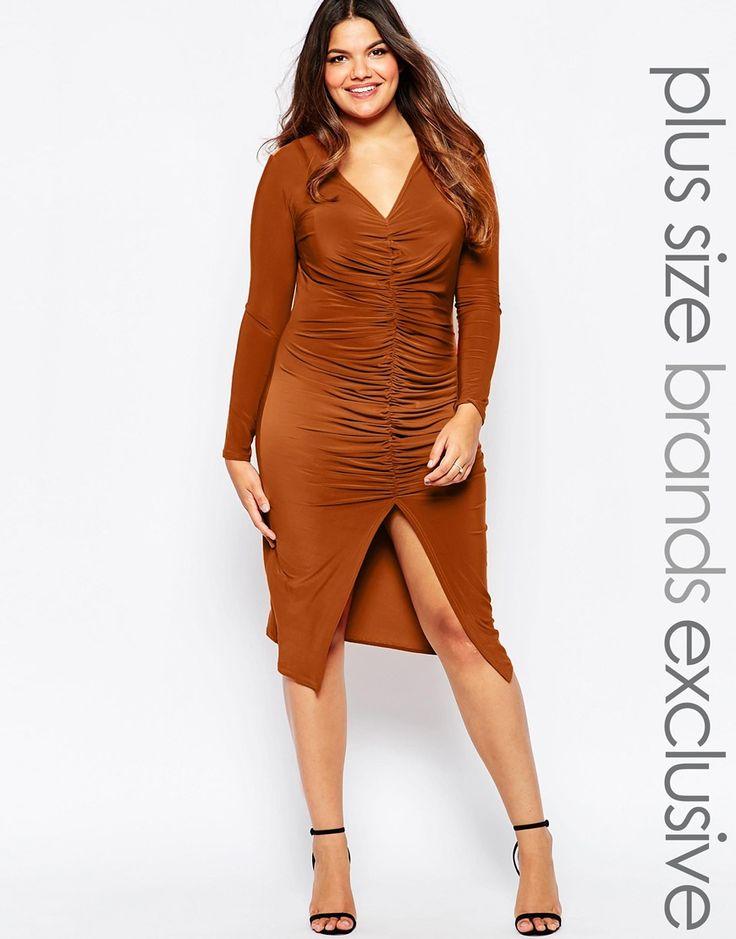 Striped spaghetti strap bodycon dress
