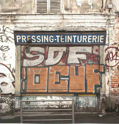 Sur les Traces d'un Passé Urbain (On the Traces Of An Urban Past) is a fine book of photos of French ghostsigns as revealed on the fascias and walls of the country's redundant shops. Created and published by @pixdar (Pixdar Photographies) there are...