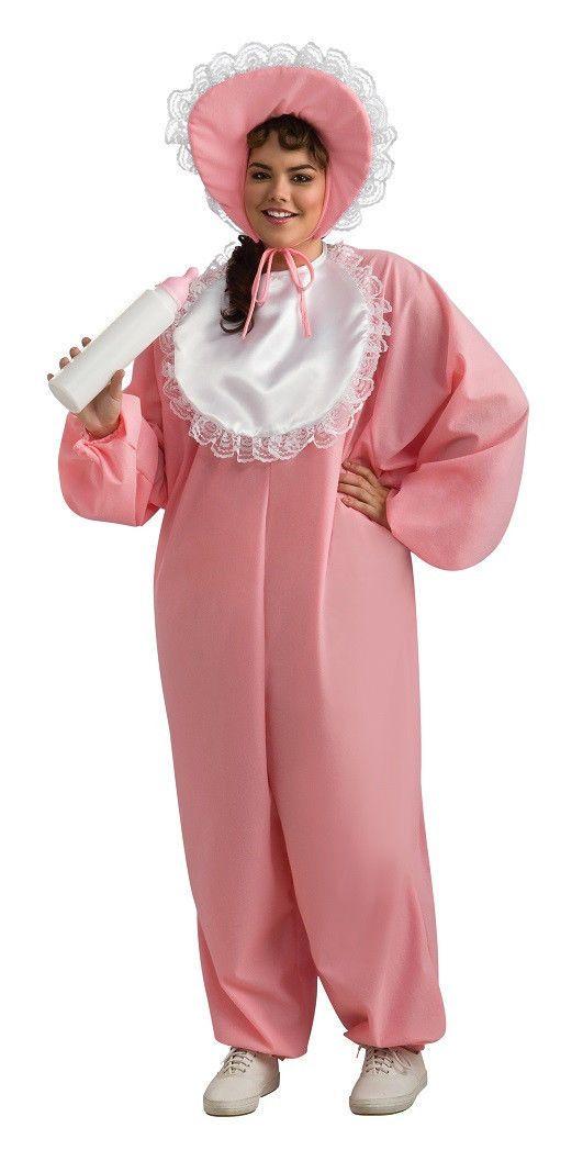 Big Baby Boy Pajamas Pyjamas Fancy Dress Up Halloween Plus Size Adult Costume