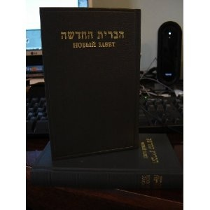 Hebrew - Rusian New Testament / Hevrejszki Ruski Novi Zavet  $57.99