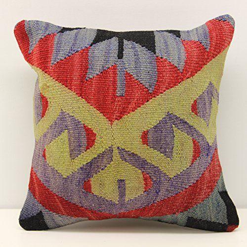 Hand woven pillow cover 12x12 inch (30x30 cm) Throw Kilim... https://www.amazon.com/dp/B077QNWV64/ref=cm_sw_r_pi_dp_x_gztgAbY7G7GGV
