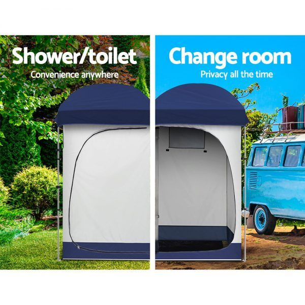 Weisshorn Camping | Shower Tent Changing Room Toilet