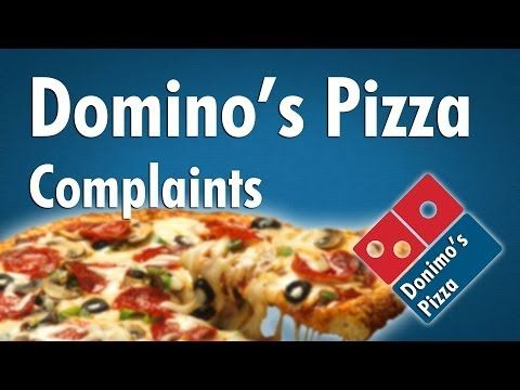 ▶ Domino's Pizza Complaints - YouTube This kind of gives you perspective on our first world problems...