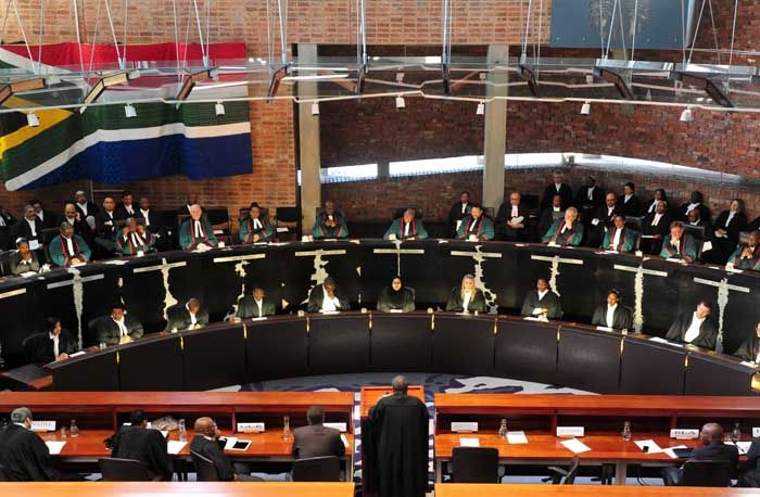 Concourt blow against affirmative action.  Constitutional Court justices.  Picture: Tracy Lee Stark