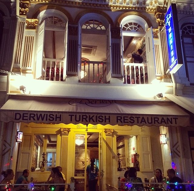 Derwish Turkish Restaurant in Arab Street.  Source: andrehendrata Instagram account