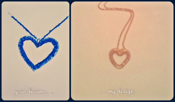 I made your hart..