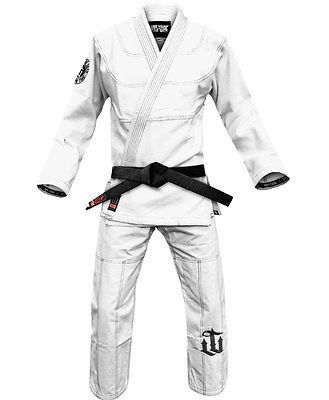 War Tribe Fundamentals Gi White Jiu Jitsu Judo Training Competition