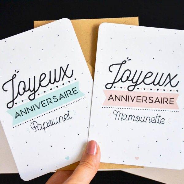 Carte Joyeux Anniversaire Papounet Carte Joyeux Anniversaire