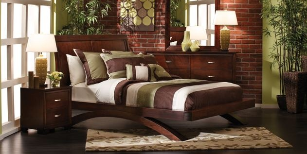 King Platform Sleigh Bed Furniture Row Trend Home Design