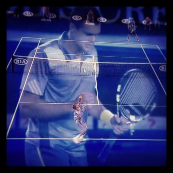 Australien Open Federer-Tsonga http://www.lollostapel.se/varldsklass/