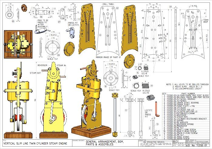 Drawing For Beginners Pdf Mechanical Engineering Design Steam Engine Engineering