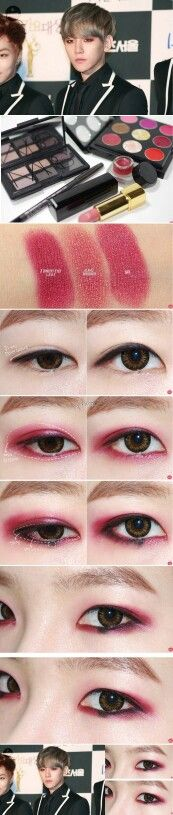 ... + images about kpop eyeliner on Pinterest | Eyes, Luhan and Eyeliner