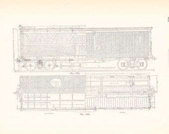 80 best antique technical drawing images on pinterest steam engine 1892 technical drawing railroad car antique math geometric drafting interior design blueprint art illustration malvernweather Image collections