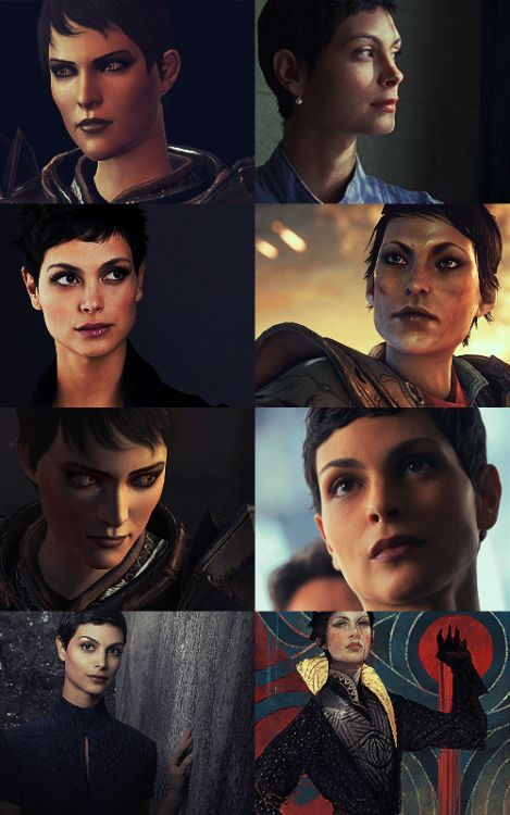 fvdetouched:  Dragon Age Live Action Fancast;Morena Baccarin as Cassandra Pentaghast