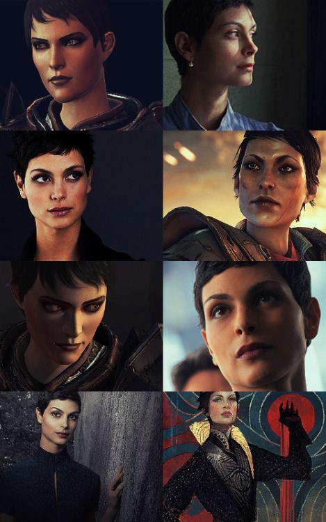 Dragon Age Live Action Fancast; Morena Baccarin as Cassandra Pentaghast