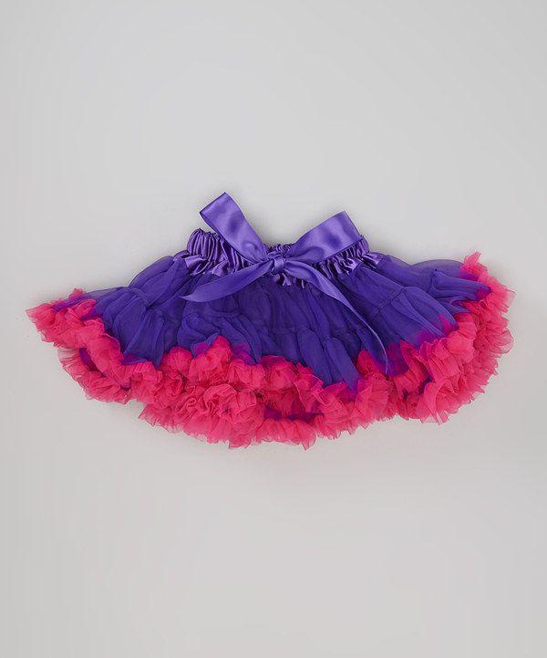 ! Lavender & Fuchsia Bow Pettiskirt .....   ZULILY.com  KIDS http://www.pinterest.com/search/boards/?q=zulily%20KIDS .....