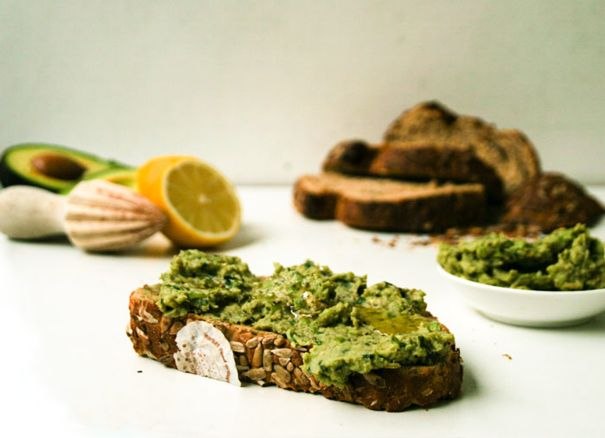 Pulp recept avocado spread