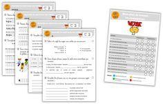 Plan de travail - Fichier de conjugaison CE1-CE2 - Journal de bord d'une instit' débutante