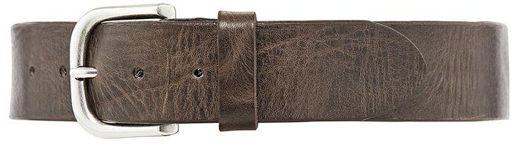 11178 jeans belt, 3,5 cm, taupe.