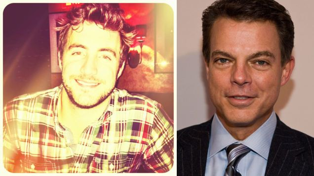 Shepard Smith's Office Romance: A 26-Year-Old Fox Staffer/in early 2012, the 49-year-old anchor started courting an attractive young production assistant who worked under him on Fox Report With Shepard Smith. Now they are a couple.http://gawker.com/shepard-smith-s-office-romance-a-26-year-old-fox-staff-1451438005