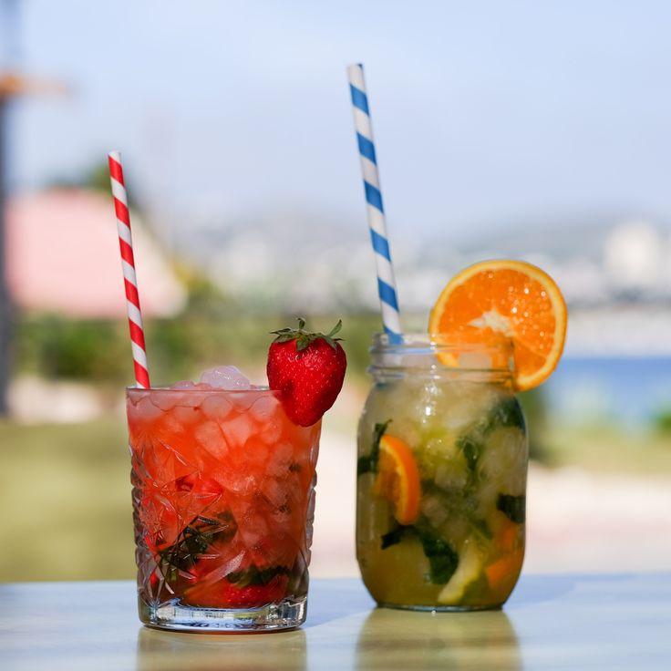 Our margaritas and mojito special @ Bar La Cabana, Moraira