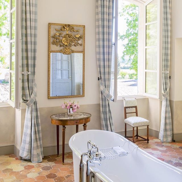 ... le mas des poiriers hotel in provence, france, french country style, for pierre frey