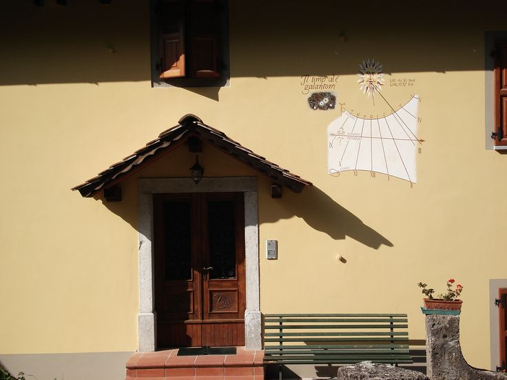 """Il timp al è galantom"", proverb i.e. things work out over times. - Casa di Dona @Maranzanis"