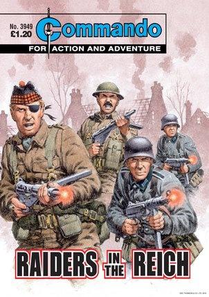 Commando Comics -Raider in the Reich
