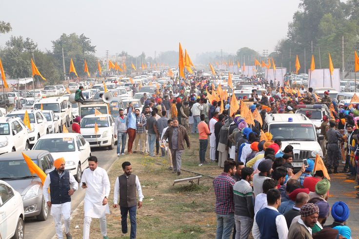 Moga rally would send a strong message of peace and goodwill. #Shiromaniakalidal #Youthakalidal #Sukhbirsinghbadal #Moga #Rally