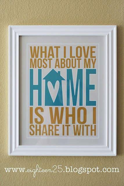 I have this up in my house! It's my filler print for most of the year...Decor, Subway Art, Sweets, Quotes, So True, House, Prints, Families, Free Printables