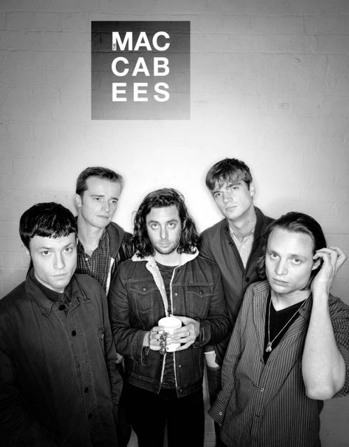 The Maccabees Great live band, seen at a few gigs and festivals