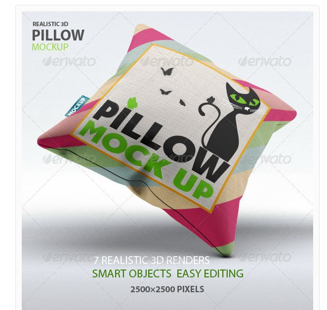 15 Best Pillow Mockup PSD for Designer