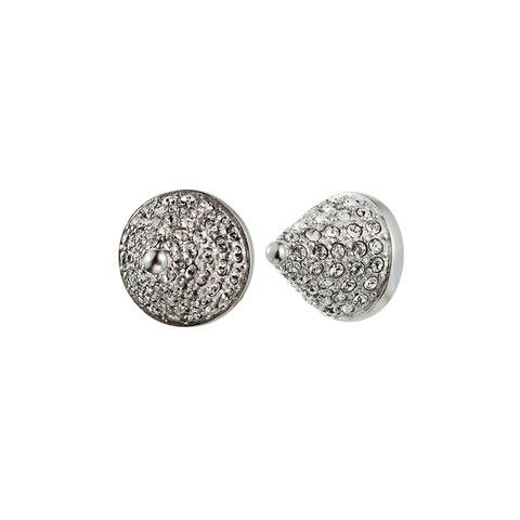 EDDIE BORGO Pave Cone Silver Earrings – KAVUT