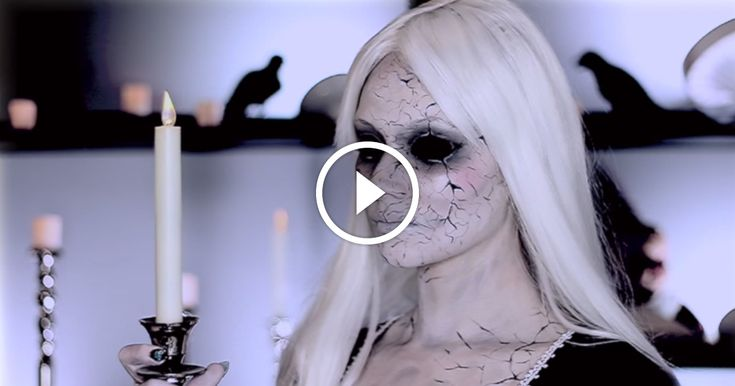 How-To Create The Cracked Porcelain Doll Effect.